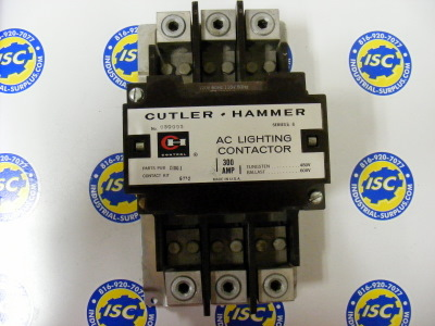 <b>Cutler-Hammer - </b>C30DN3 Size 5 Lighting Contactor 120V