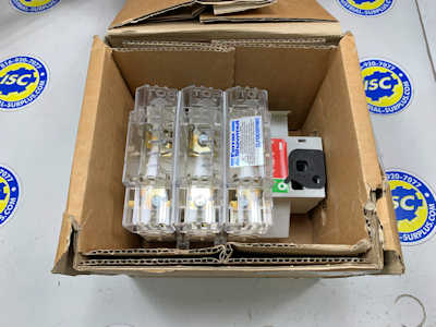 <b>Ferraz Shawmut - </b>FBJ60 Fusible Disconnect Switch NEW