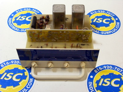 <b>General Electric - </b>193X704ABG02 Sensitive Relay Board