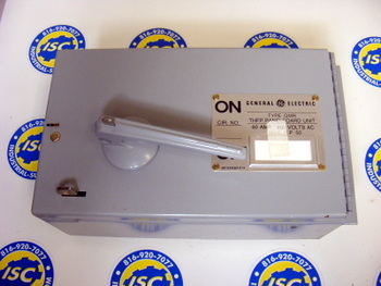 <B>General Electric - </B>THFP361 Fusible Panel Switch