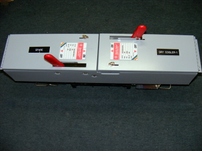 <B>GE - </B>ADS36030HD Dual Spectra Series Fusible Switch
