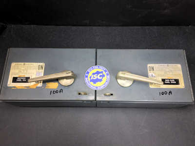 <b>General Electric - </b>QMR363 Panel Switch Twin
