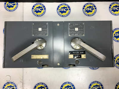 <B>I.T.E. - </B>V7E3611 Vacu-Break Twin Panel Switch