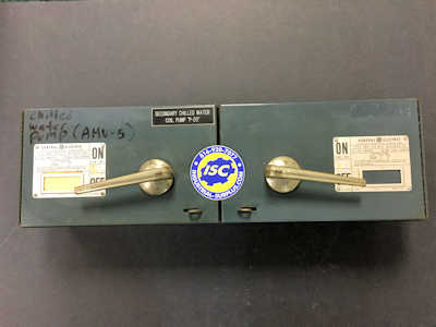 <b>General Electric - </b>QMR361 Twin Panel Switch