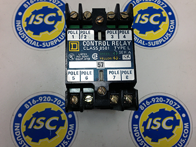 <B>Square D - </B>8501-LO20 Relay Series A
