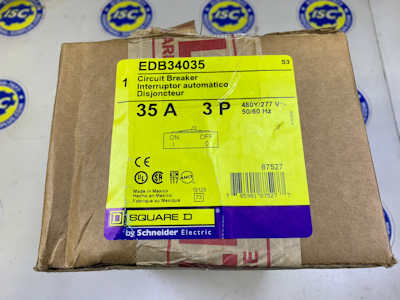 <b>Square D - </b>EDB34035 Circuit Breaker - NEW