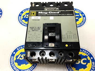 <b>Square D - </b>FHP36100 Circuit Breaker