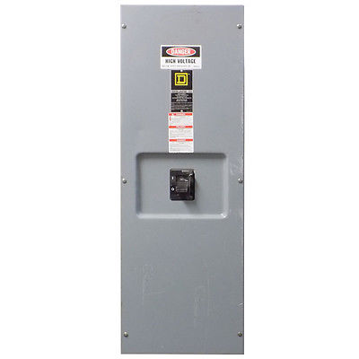 <B> Square D  - </B>LA400S Circuit Breaker Enclosure E3