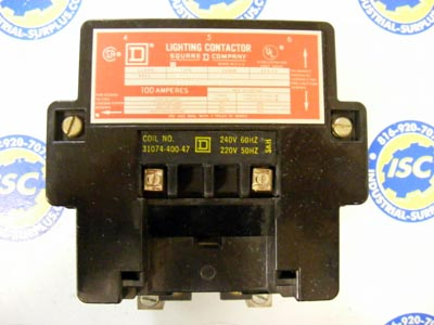 <B>Square D - </B>8903-SQO2 Lighting Contactor Ser A 120V