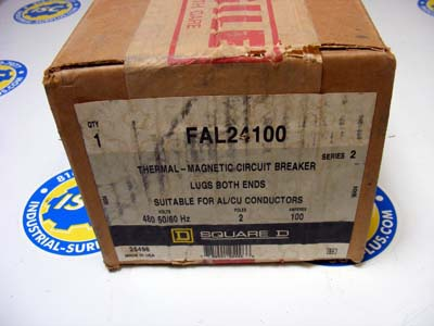 <b>Square D - </b>FAL24100 Circuit Breaker NEW