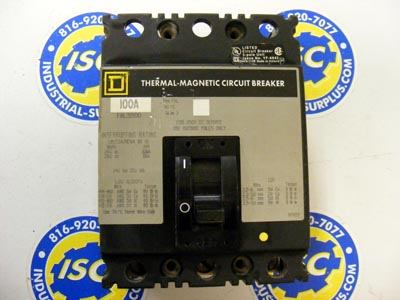 <b>Square D - </b>FAL32100 Circuit Breaker