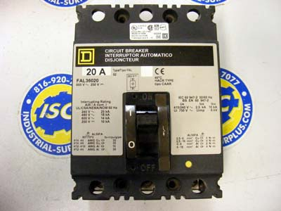 <b>Square D - </b>FAL340155853 Circuit Breaker