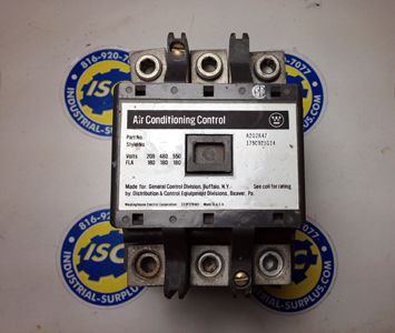 <B>Westinghouse - </B>A202K47 Air Conditioning Contactor