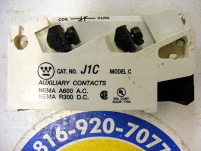 <b>Westinghouse - </b>9084A17G04 Type-J Auxiliary Mod.C