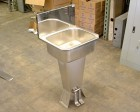 <b>Columbia - </b>Foot Pedal Controlled Sink, Stainless Steel